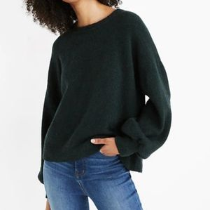 Madewell Gladwell Balloon-Sleeve Pullover Sweater